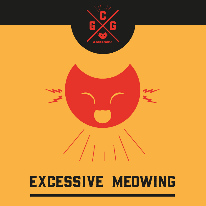 Excessive Meowing
