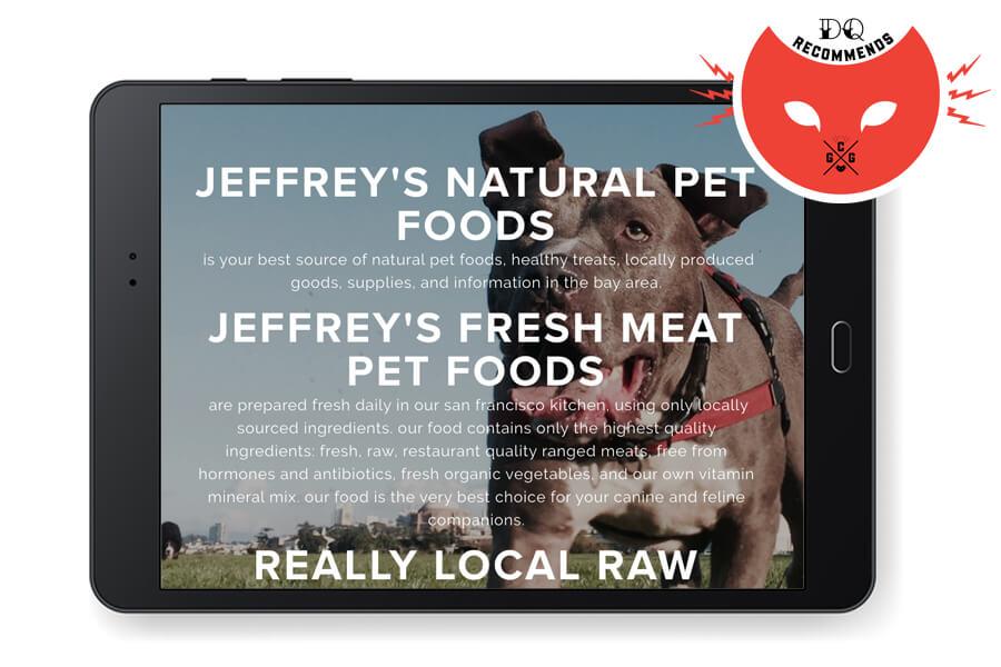 Jeffs Natural Pet Food